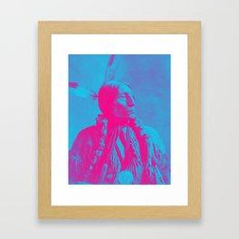 Chief Wolf Robe was a Southern Cheyenne chief  1904 a Framed Art Print