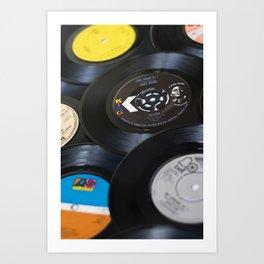 Sounds of the 70s III Art Print