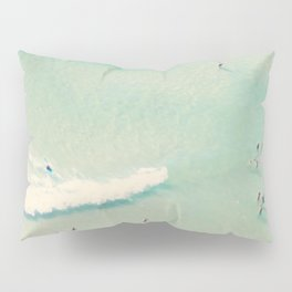 beach summer waves Pillow Sham