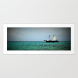 Sailing pt. 2 Art Print