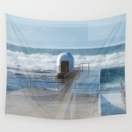 Merewether baths pumphouse Wall Tapestry