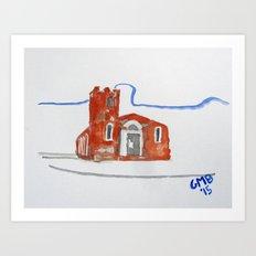 Igreja Nossa Senhora do Rosário de Fátima Art Print