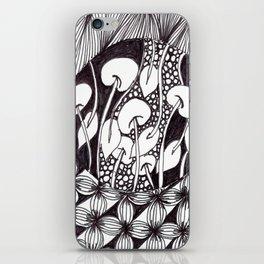 Zen Doodle Graphics zz17 iPhone Skin