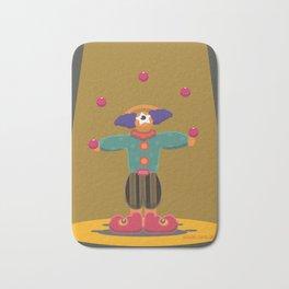 clown eye Bath Mat