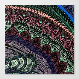 Bohemian Tapestry Canvas Print