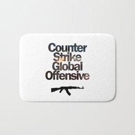 Counter Strike - Global Offensive  Bath Mat