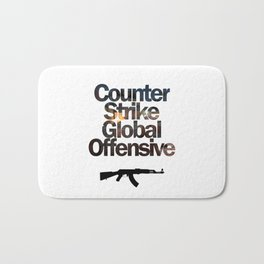 Counter Strike - Global Offensive  Bath Mat