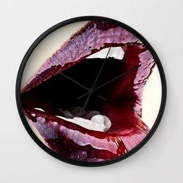 Lippy Love Wall Clock