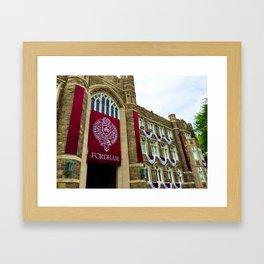 Keating Hall at Fordham University Commencement  Framed Art Print