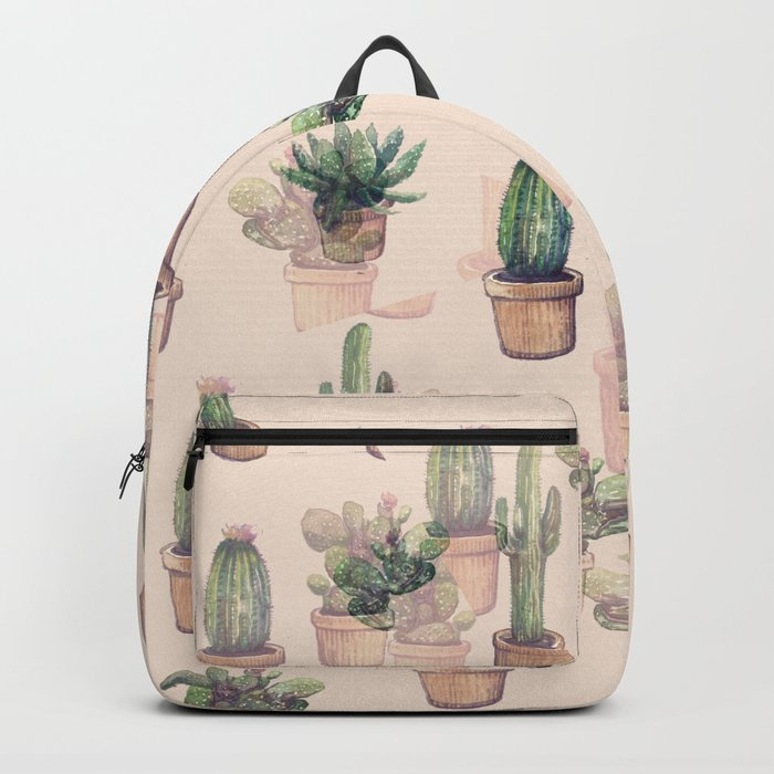 cactus illusion Backpack