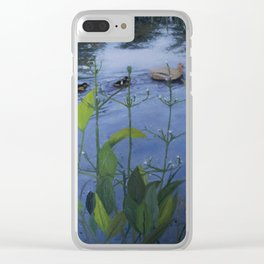 Gliding By Clear iPhone Case
