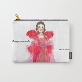 Scarlet O'hara: Haters Gonna Hate by Joshua B. Wichterich Carry-All Pouch