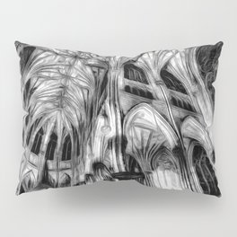The Haunted Cathedral Pillow Sham