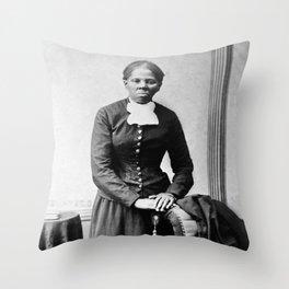 Harriet Tubman Portrait - Circa 1873 Throw Pillow