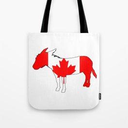 Canada Donkey Tote Bag