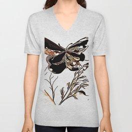 On Butterfly Wings Unisex V-Neck