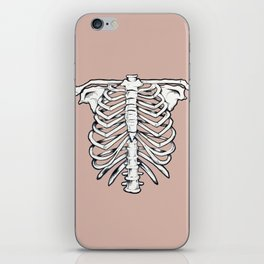 rib illustration tattoo design iPhone Skin