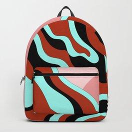 Beautiful Journey - Rust Turquoise Backpack