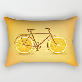 Vitamine C-ycle Rectangular Pillow