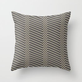 ziggy zaggy Throw Pillow