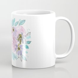 Roses and Daisies Coffee Mug