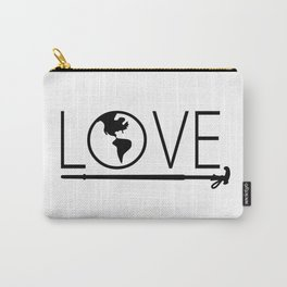 I love the world Carry-All Pouch