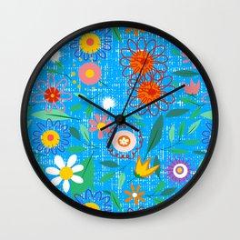 florals Wall Clock