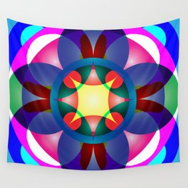Atoms 37 Wall Tapestry