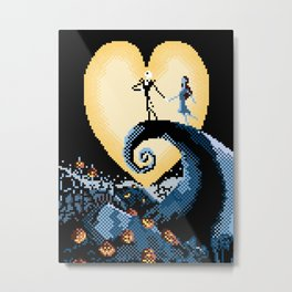 The NightmareBefore Christmas Metal Print