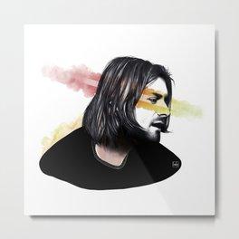 Cobain Kurt Metal Print