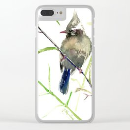 Yuhina Bird Clear iPhone Case