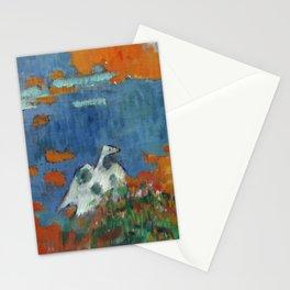 """Paul Gauguin """"Bretonne et oie au bord de l'eau"""" Stationery Cards"""