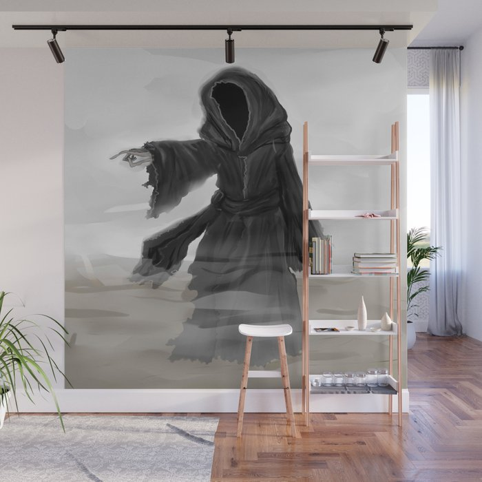 Ghost Of Christmas Yet To Come.Ghost Of Christmas Yet To Come Wall Mural By Phoenixoftheashes