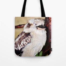 Sleeping Kookaburra Tote Bag