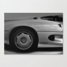 Jaguar XJ220 Canvas Print