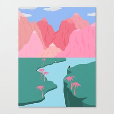 Girls' Oasis Canvas Print