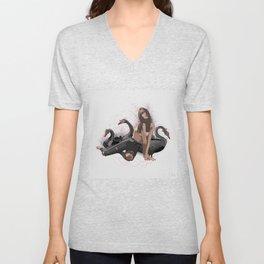 Black swan Unisex V-Neck