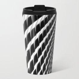 Waves of Iron Travel Mug