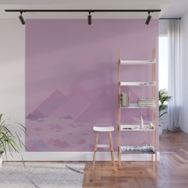 The lilac hills Wall Mural