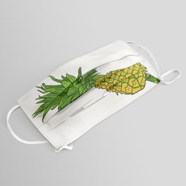 Pi the pineapple Face Mask