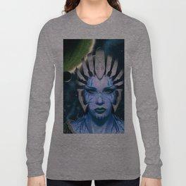 Space Woman Long Sleeve T-shirt