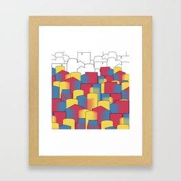 Basic Complex Framed Art Print