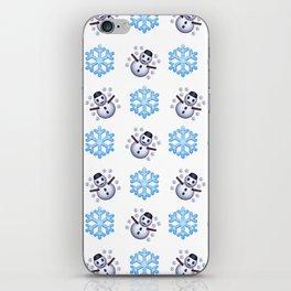 C1.3D Snowmoji iPhone Skin