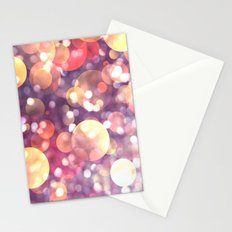 Glitter atmosphere Stationery Cards