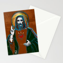 Jesus Christ: Daily Bread - Brown Stationery Cards