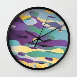 Reflective Exchange Wall Clock