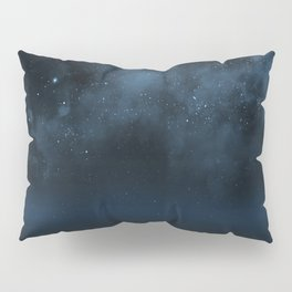 Universe & Ocean -   Space - Night Sky - Stars - Ocean - Night Pillow Sham