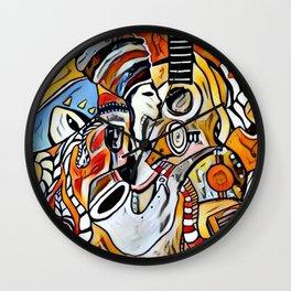 Pleasant Minds 2 Wall Clock