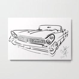 Stinkin' Lincoln '59 Metal Print
