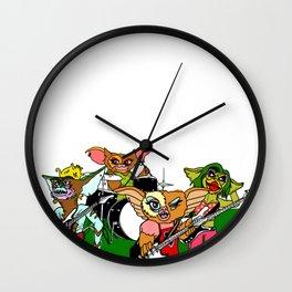 Gremlins Band Jam Wall Clock
